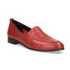 Kožené dámské mokasíny červené bata, červená, 534-5601 - 13