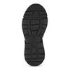 Kotníkové tenisky v městském stylu bata-light, černá, 691-6606 - 18