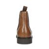 Hnědá pánská kožená Chelsea obuv bata, hnědá, 816-3629 - 15