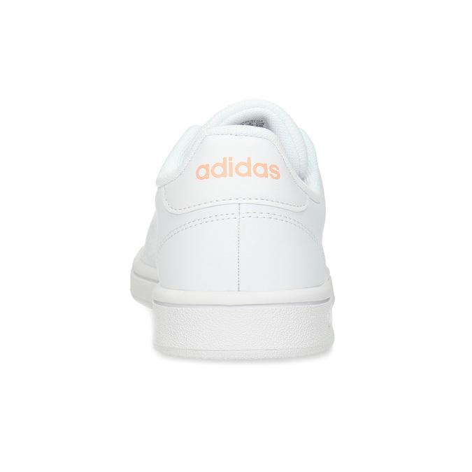 Bílé dámské tenisky s perforací adidas, bílá, 501-1240 - 15