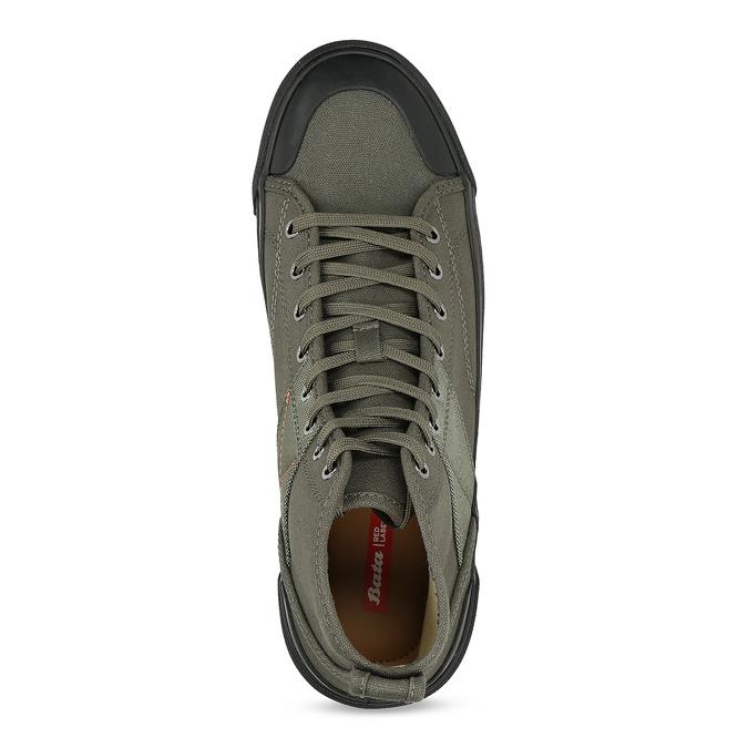 Khaki pánské kotníčkové tenisky bata-red-label, khaki, 841-7780 - 17