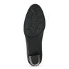 Kožené dámské lodičky šíře H bata, černá, 624-6606 - 18