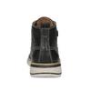 Černá kožená pánská kotníčková obuv weinbrenner, černá, 844-6638 - 15