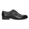 Černé pánské kožené Derby polobotky bata, černá, 824-6920 - 19