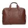 Dámská hnědá kožená taška s popruhem bata, hnědá, 964-3625 - 16
