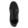 Kotníčkové kožená obuv s kontrastním prošitím weinbrenner, černá, 596-6602 - 17