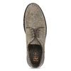 Pánské ležérní polobotky z broušené kůže flexible, šedá, 823-8961 - 17