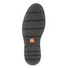 Hnědá kožená kotníčková Chelsea obuv flexible, hnědá, 896-3742 - 18