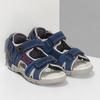 Chlapecké sandály na suchý zip modré mini-b, modrá, 263-9605 - 26