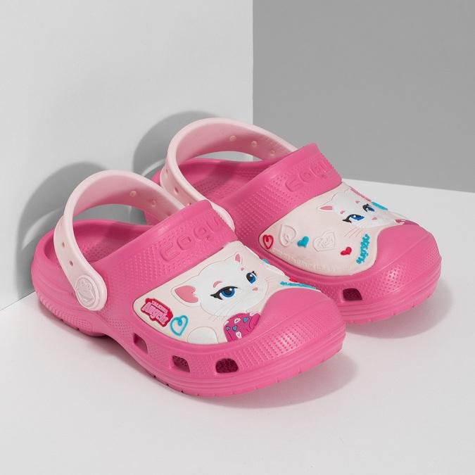 Růžové dětské sandály coqui, růžová, 272-5610 - 26