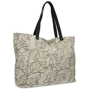 Dámská béžová kabelka s pouzdrem bata, béžová, 969-2618 - 13