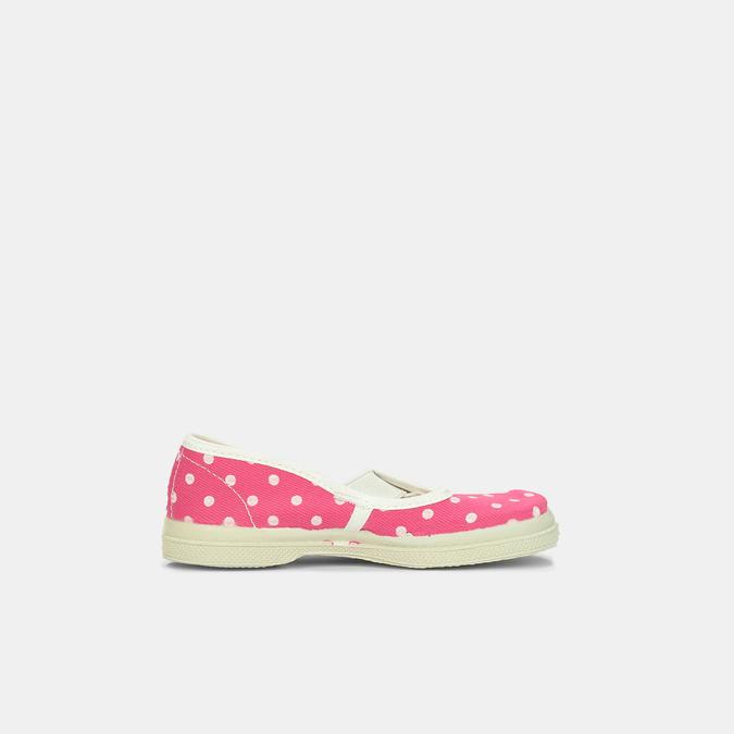 Růžové dětské přezůvky s puntíky bata, růžová, 279-5102 - 15