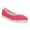 Růžové dětské přezůvky s puntíky bata, růžová, 279-5102 - 13