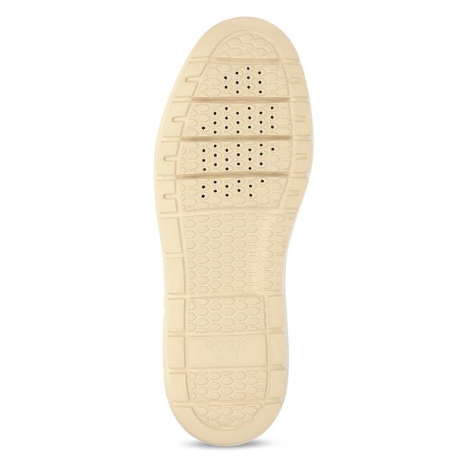 Žlutá dámská kožená zimní obuv geox, žlutá, 596-8542 - 18
