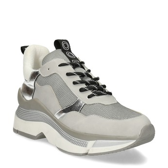 Dámské tenisky ve stylu Chunky Sneakers bata, šedá, 541-2612 - 13