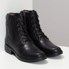 Černá kožená zimní obuv se zateplením camel-active, černá, 696-6592 - 26