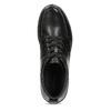 Černá pánská kotníčková kožená obuv geox, černá, 826-6352 - 17