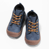 Modrá dětská kotníčková obuv se zateplením bubblegummers, modrá, 191-9603 - 16