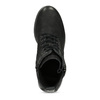 Kožená dámská kotníčková zimní obuv bata, černá, 696-6603 - 17