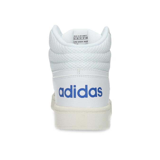 Pánské bílé kotníčkové tenisky adidas, bílá, 801-1327 - 15