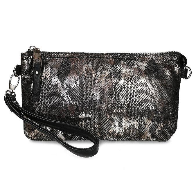 Dámská Crossbody kabelka s hadím vzorem gabor, stříbrná, 969-1103 - 26