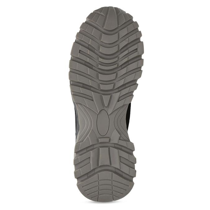 Černá dámská kotníčková zimní obuv bata, černá, 591-6624 - 18
