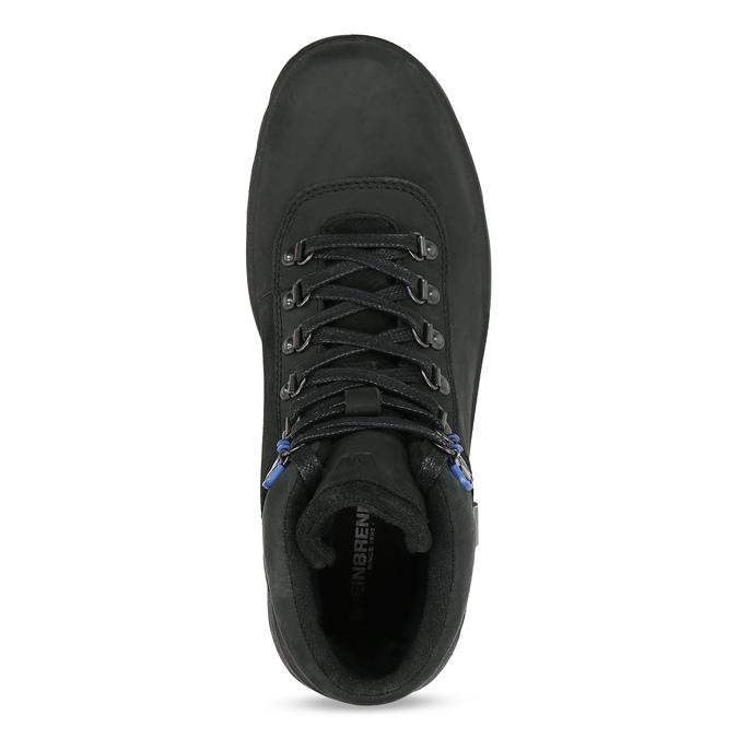 Pánská Outdoor obuv z broušené kůže weinbrenner, černá, 896-6755 - 17