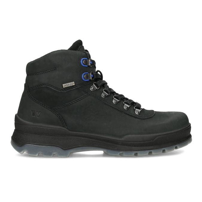 Pánská Outdoor obuv z broušené kůže weinbrenner, černá, 896-6755 - 19