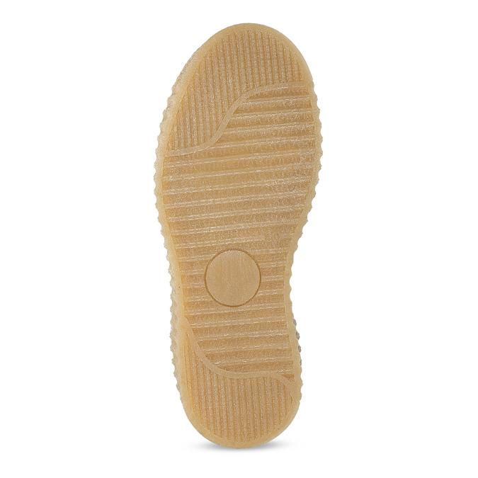 Kožená dětská zelená kotníčková obuv mini-b, zelená, 423-7608 - 18