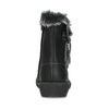 Kožené dětské kozačky s kožíškem mini-b, černá, 396-6610 - 15