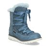 Modré dětské kožené sněhule se zateplením mini-b, modrá, 493-9622 - 13