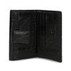 Dámská kožená peněženka se strukturou bata, černá, 944-6617 - 15
