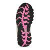 Dětská černá zimní obuv s růžovými detaily mini-b, černá, 491-6668 - 18