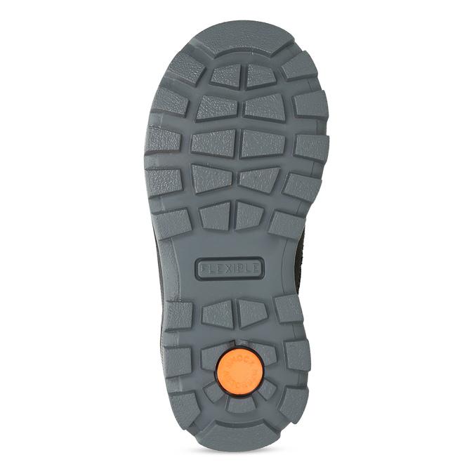 Dětská kožená zimní obuv na suché zipy mini-b, šedá, 299-2623 - 18
