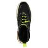 Černé dámské tenisky s neonovými detaily vagabond, černá, 544-6102 - 17