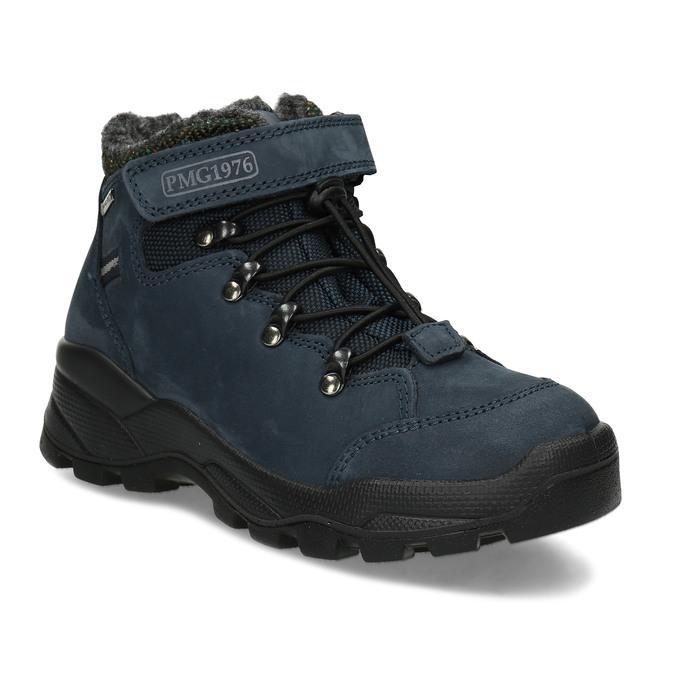 Modrá dětská zimní obuv z broušené kůže primigi, modrá, 416-9645 - 13