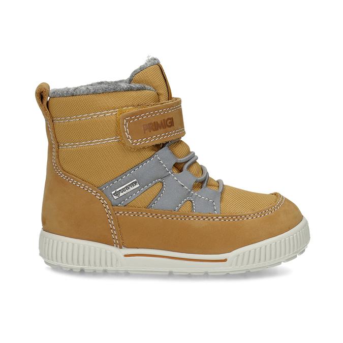 Žlutá dětská kotníčková zimní obuv primigi, žlutá, 199-8615 - 19