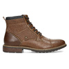 Pánská hnědá kotníčková obuv s prošitím bata-red-label, hnědá, 891-3608 - 19