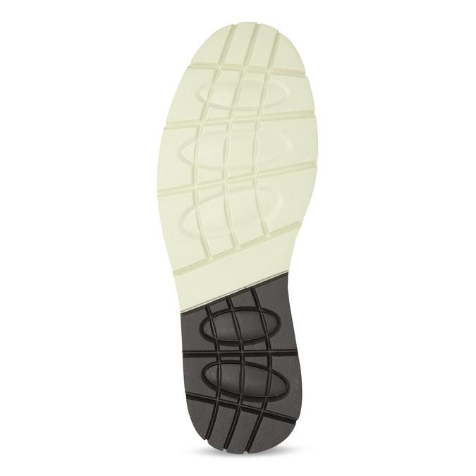 Hnědá pánská kotníčková obuv s prošitím bata-red-label, hnědá, 891-3609 - 18