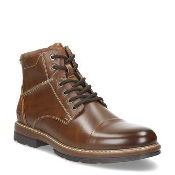 Pánská hnědá kotníčková zimní obuv bata-red-label, hnědá, 891-3610 - 13
