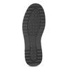 Pánská černá kotníčková obuv s prošitím bata-red-label, černá, 891-6606 - 18
