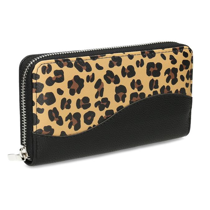 Černá dámská peněženka se vzorem bata, vícebarevné, 941-0622 - 13