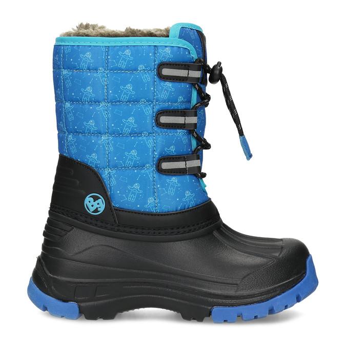 Modré dětské sněhule se zateplením bubblegummers, modrá, 392-9601 - 19