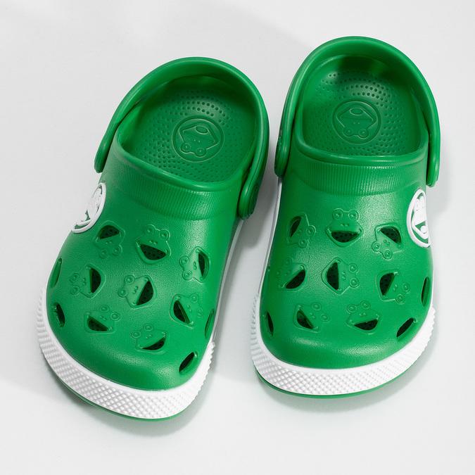Chlapecké nazouváky zelené coqui, zelená, 372-7663 - 16