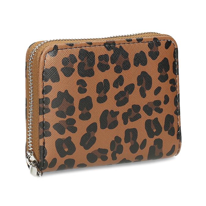 Dámská peněženka s leopardím vzorem bata, vícebarevné, 941-0621 - 13