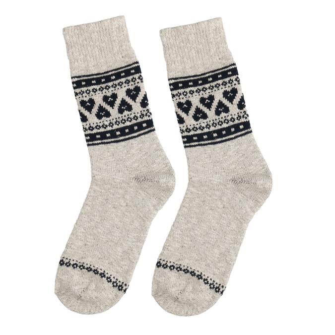 Dámské outdoor ponožky matex, béžová, 919-8602 - 26