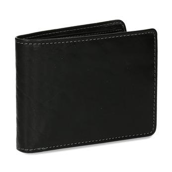 Pánská peněženka v černé kůži bata, černá, 944-6229 - 13