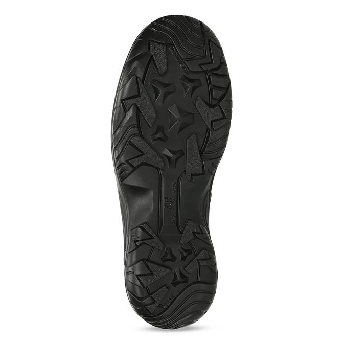 Černé pánské kožené sněhule weinbrenner, černá, 899-6602 - 18