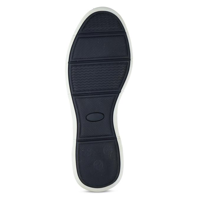 Hnědé pánské ležérní tenisky s prošitím bata, hnědá, 846-3605 - 18