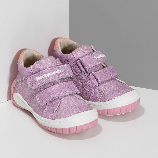 Dětská fialová kotníčková obuv bubblegummers, fialová, 121-5625 - 26